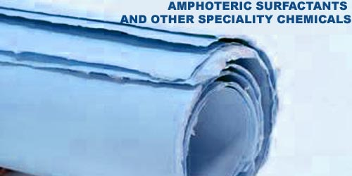 Amphoteric surfactants and other speciality chemicals